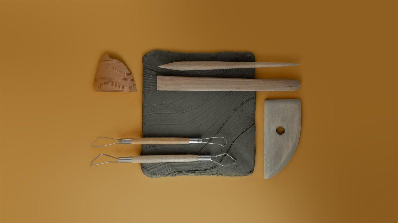 attrezzi lavorazione argilla
