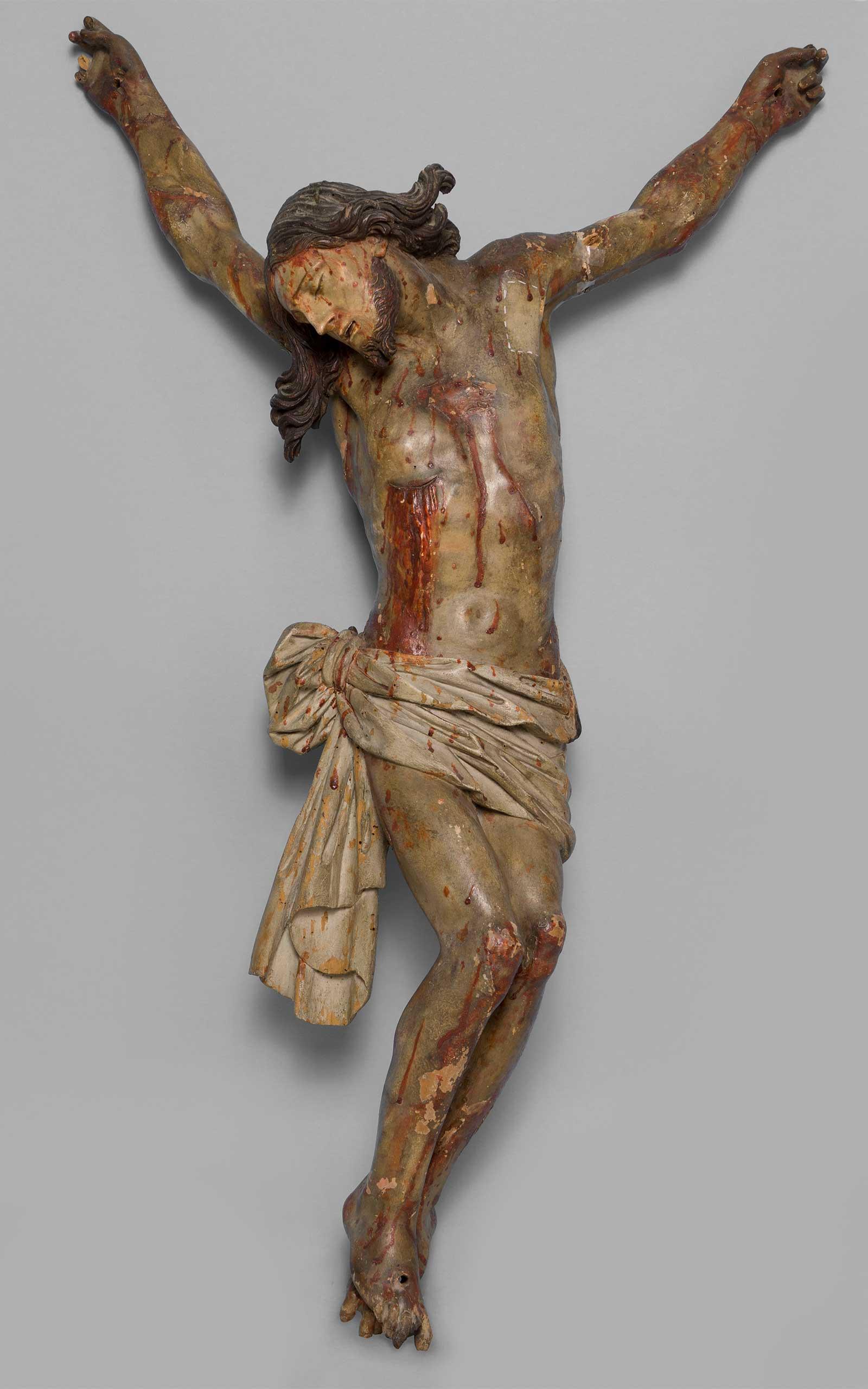 restauro crocifisso ligneo prima